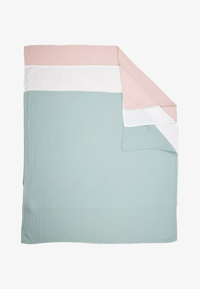 3 PACK - Coperta di mussola - light pink