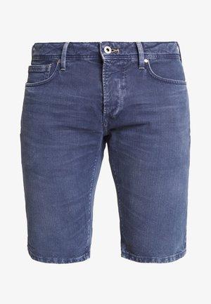 STANLEY - Denim shorts - steel blue