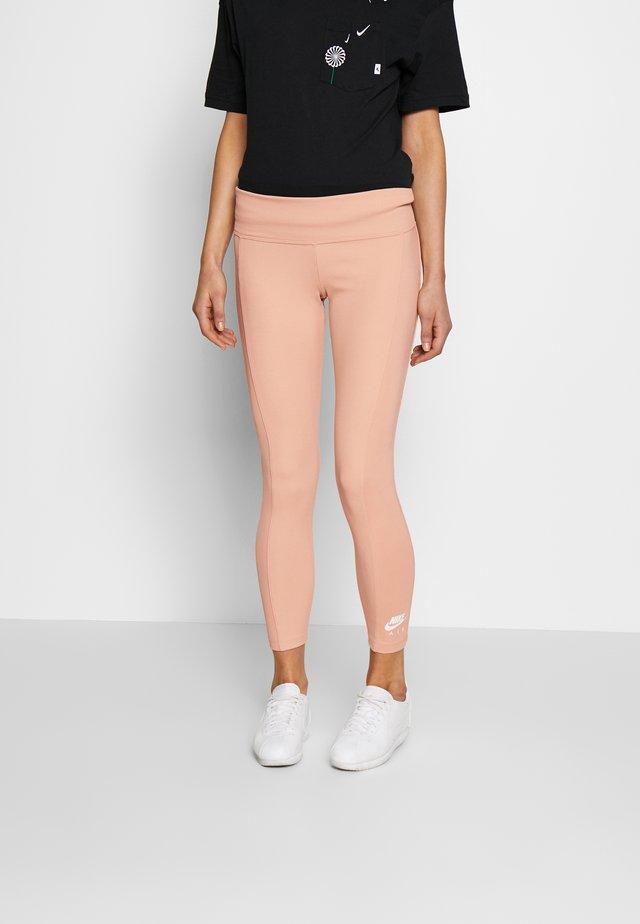 Leggings - Trousers - shimmer/ice silver