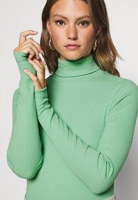 Weekday - VERENA TURTLENECK - Long sleeved top - sage green - 5