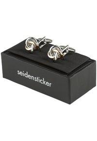 Seidensticker - Cufflinks - silver-coloured - 3