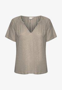 Cream - CRLUNA - Camiseta básica - timber wolf - 0