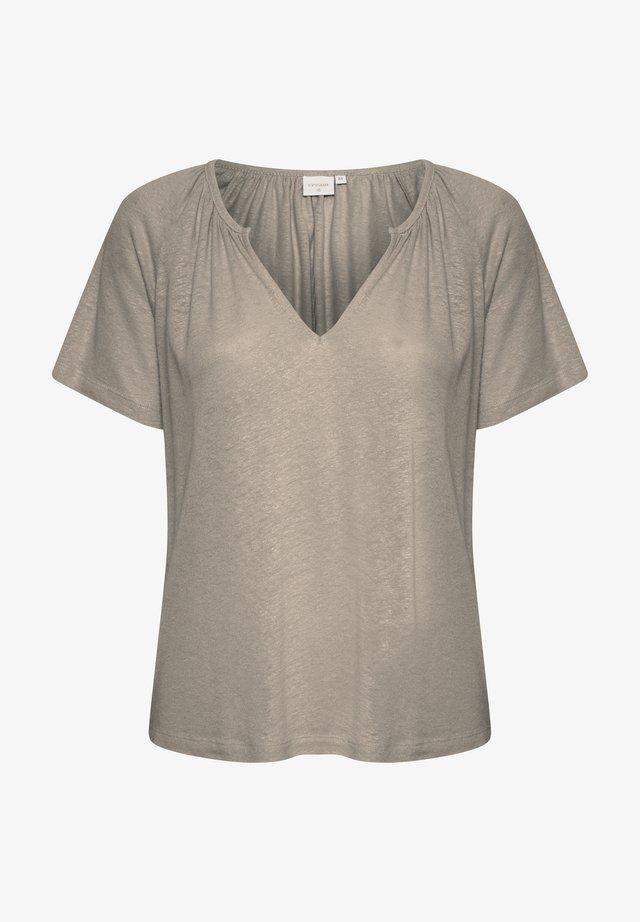 CRLUNA - T-shirt basique - timber wolf