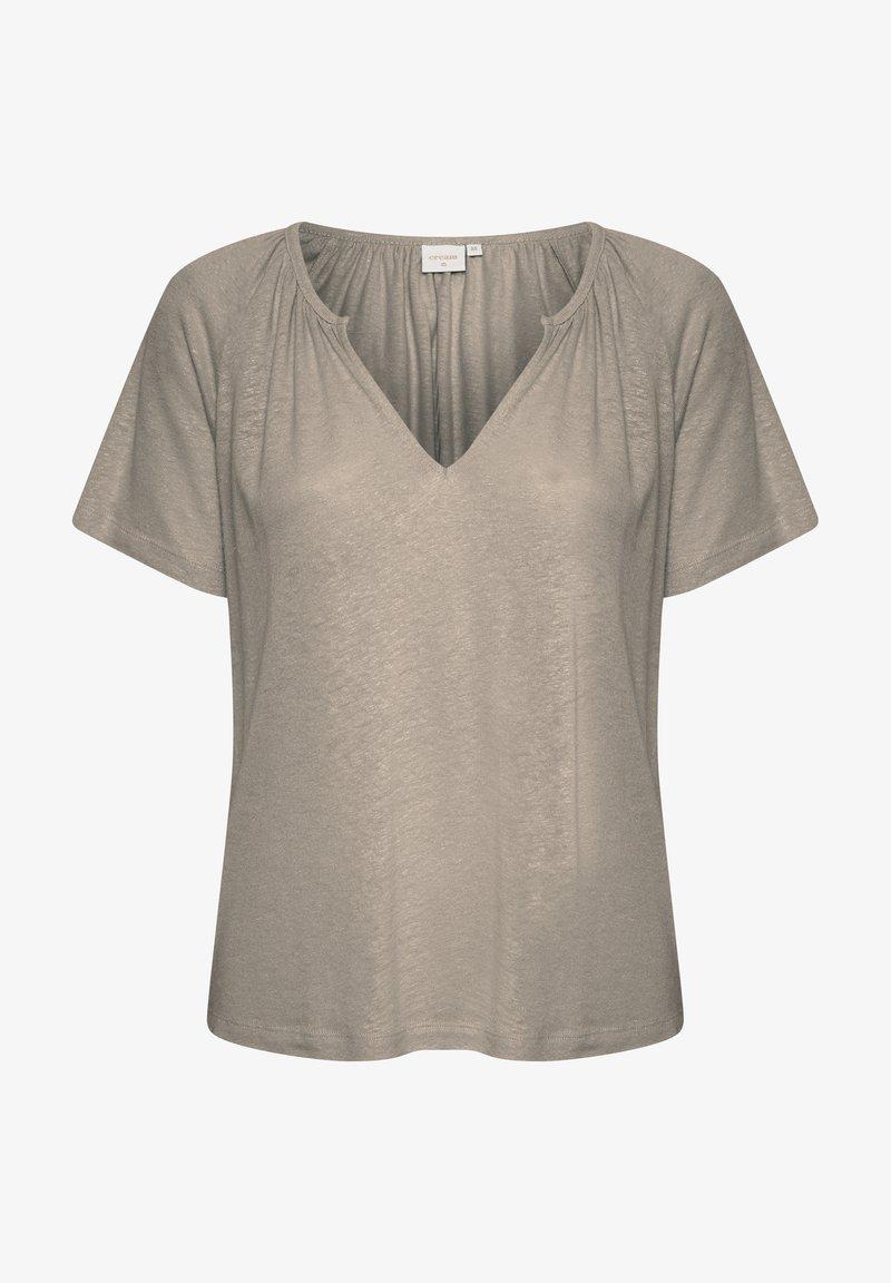 Cream - CRLUNA - Camiseta básica - timber wolf