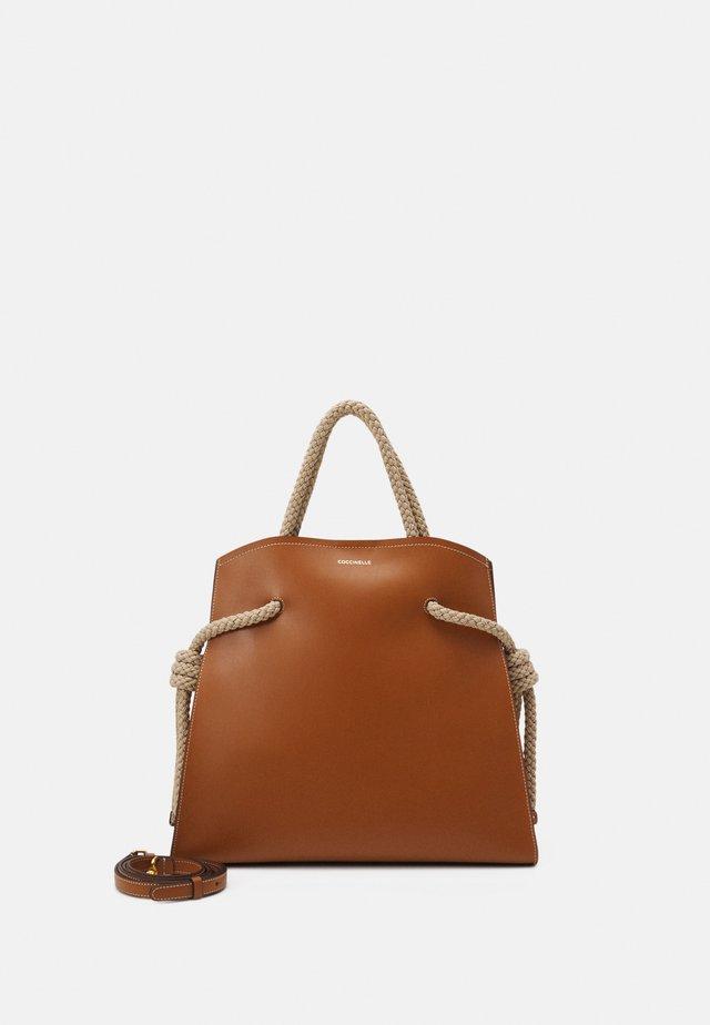 Shopping Bag - caramel/natural