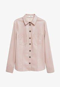 Mango - NASTIA - Button-down blouse - rosa pastel - 4