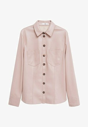 NASTIA - Button-down blouse - rosa pastel