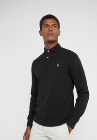 Polo Ralph Lauren - BASIC SLIM FIT - Polo - black - 0