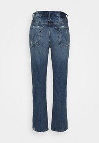 Mother - HIGH WAISTED HIKER HOVER - Straight leg jeans - blue denim - 1