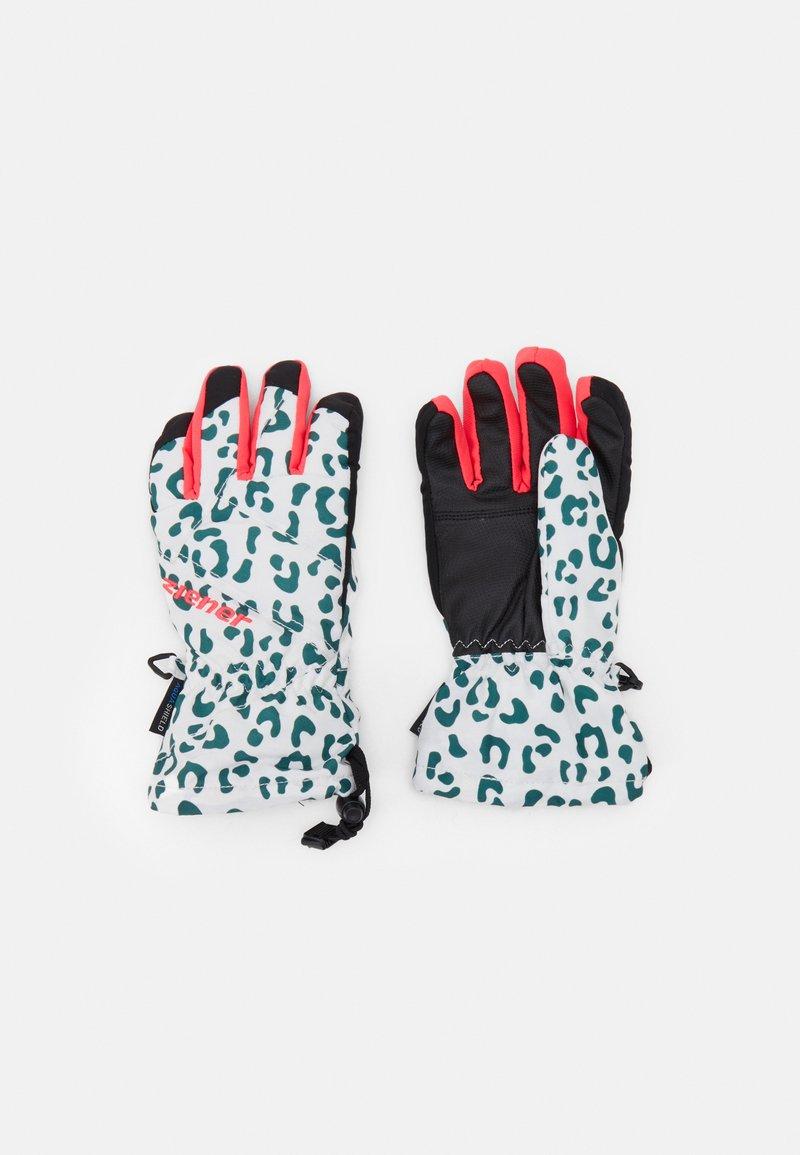 Ziener - AGIL GLOVE JUNIOR UNISEX - Gloves - white/neon pink