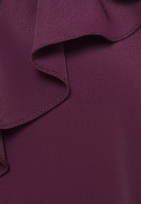 Wallis - RUFFLE TIE NECK - Blouse - berry - 2