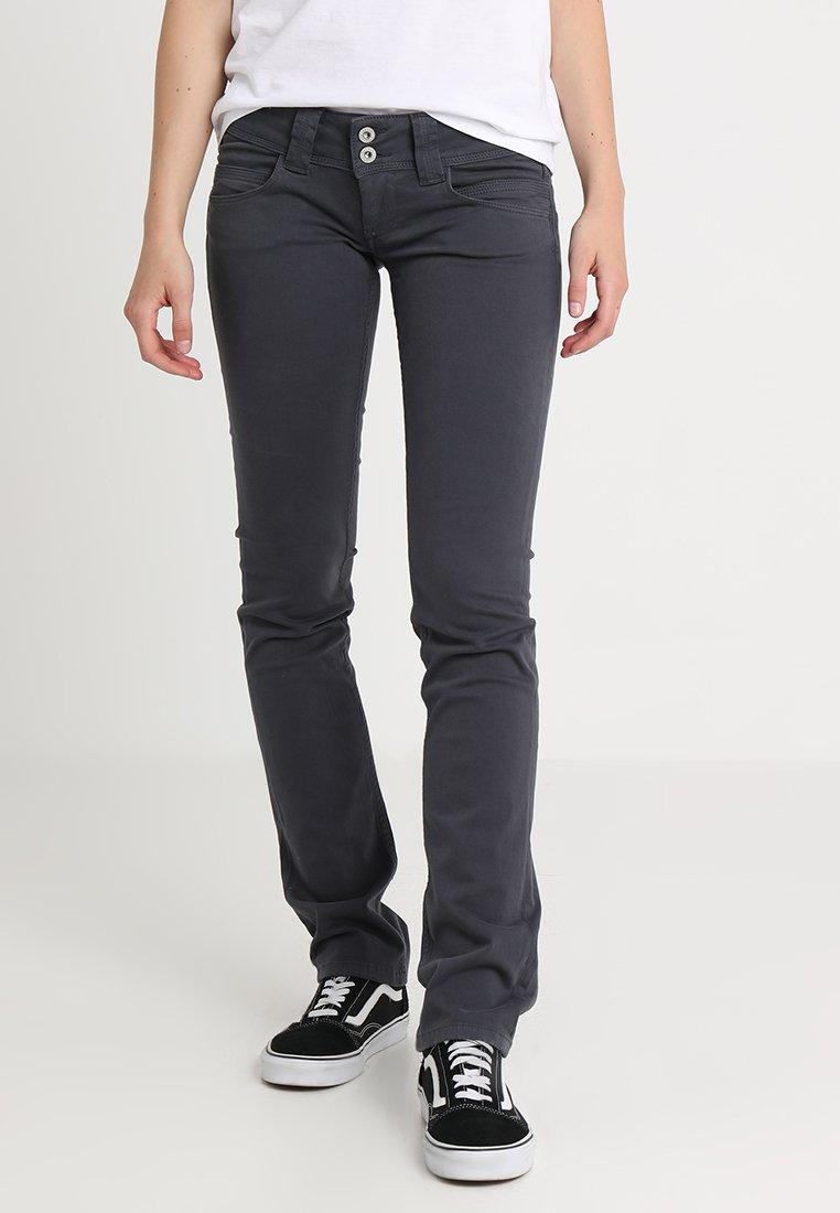 Pepe Jeans Venus Trousers Deep Grey Dark Grey Zalando De