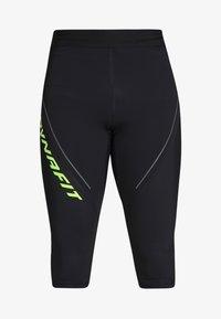 Dynafit - ALPINE - 3/4 sportovní kalhoty - black out - 4