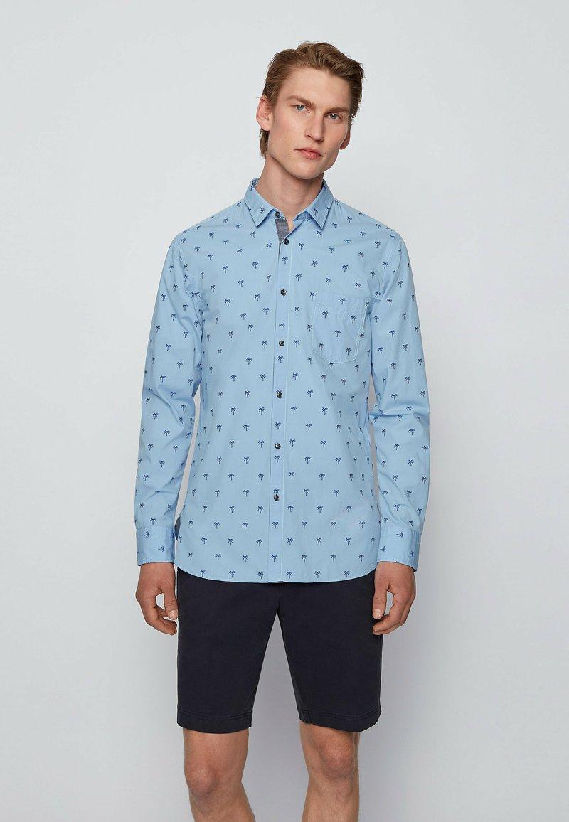 BOSS - MAGNETON - Shirt - open blue