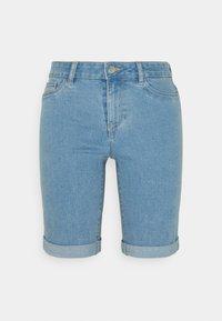 ONLY Tall - ONLSUN ANNEKMIDLONG 2 PACK - Jeansshort - light blue denim - 1