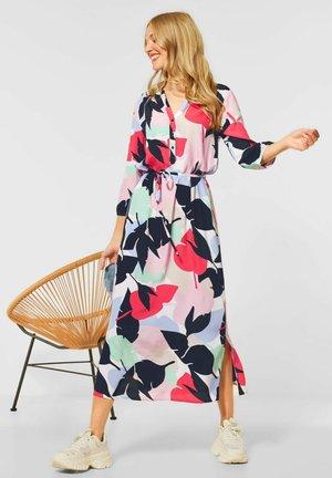 MIT PRINT - Maxi dress - rot