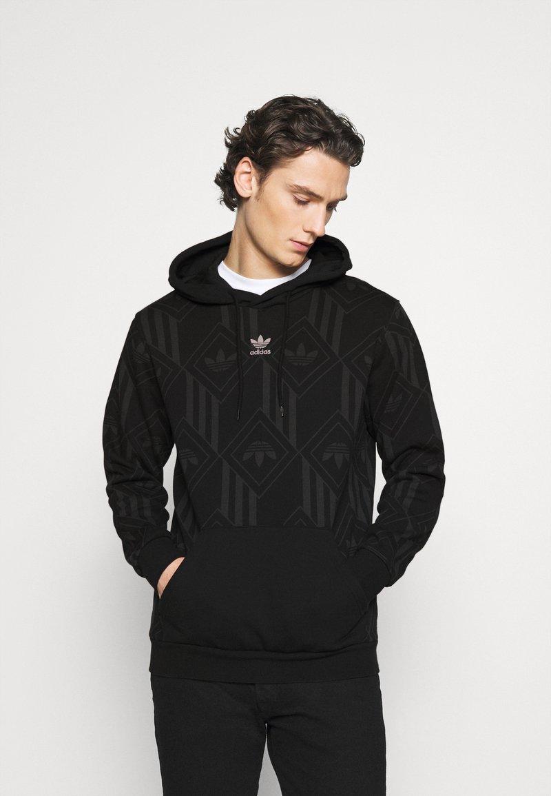 adidas Originals - MONO - Mikina skapucí - black