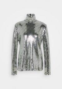 MM6 Maison Margiela - T-shirt à manches longues - silver - 0