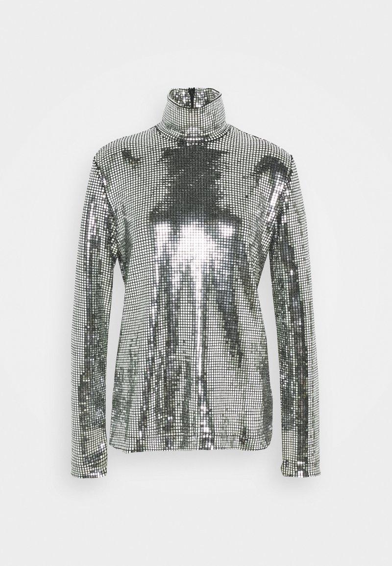 MM6 Maison Margiela - T-shirt à manches longues - silver