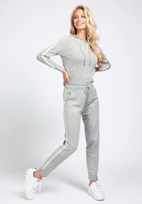 Guess - Tracksuit bottoms - light grey - 1