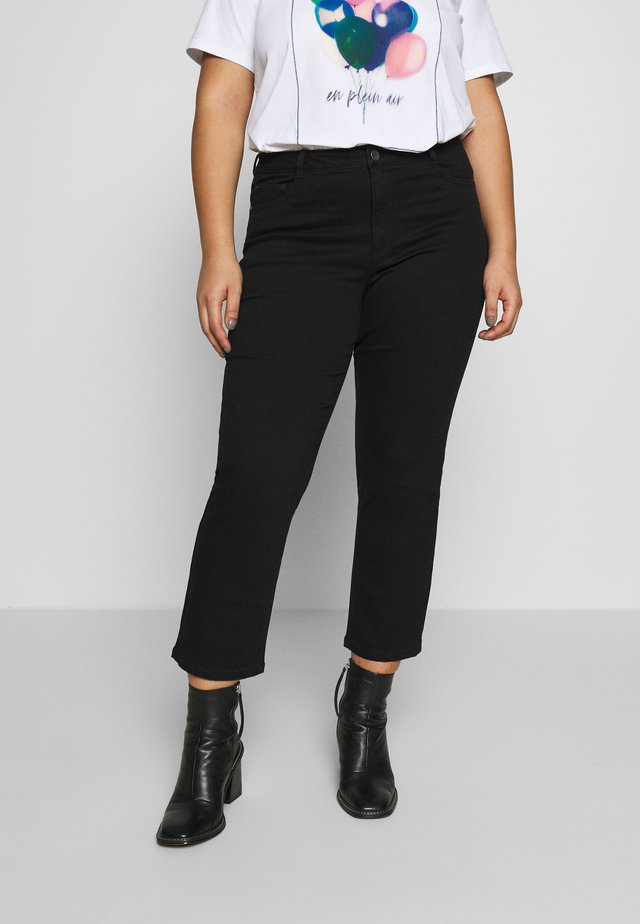 CROPPED - Jeansy Slim Fit - black deep