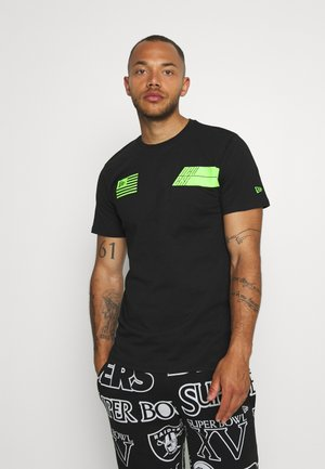 WORDMARK TEE  - Print T-shirt - black