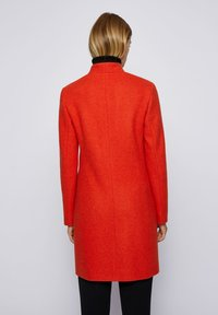 BOSS - Classic coat - dark orange - 2