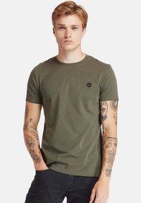 Timberland - Basic T-shirt - grape leaf - 0