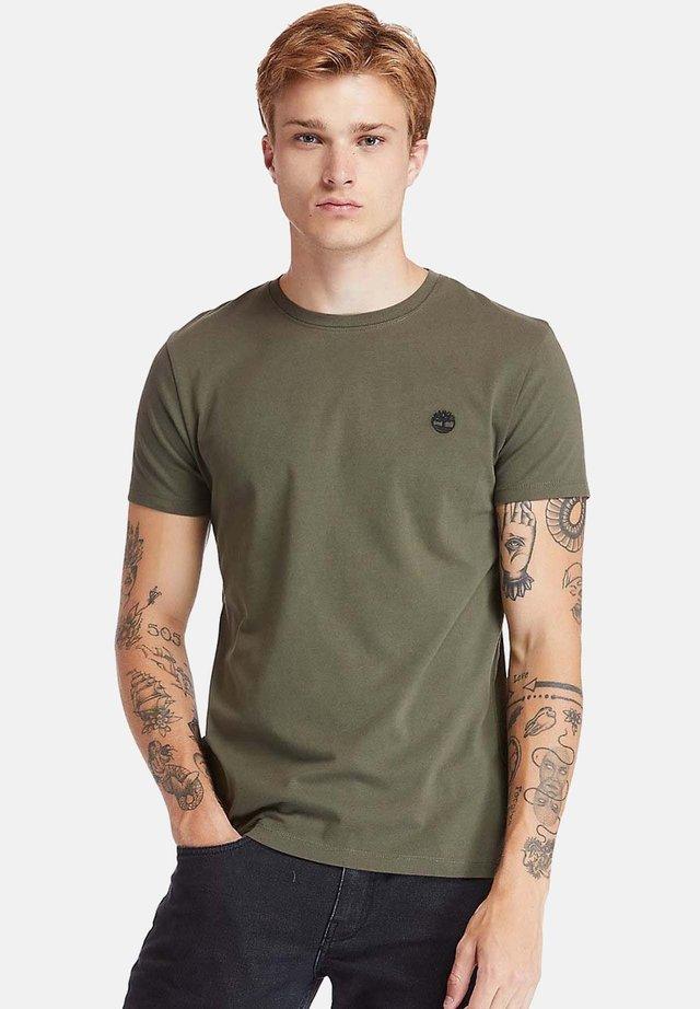 T-shirt basic - grape leaf