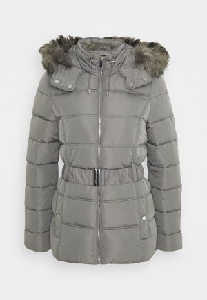 FITTED PADDED PUFFER - Winter jacket - dark grey