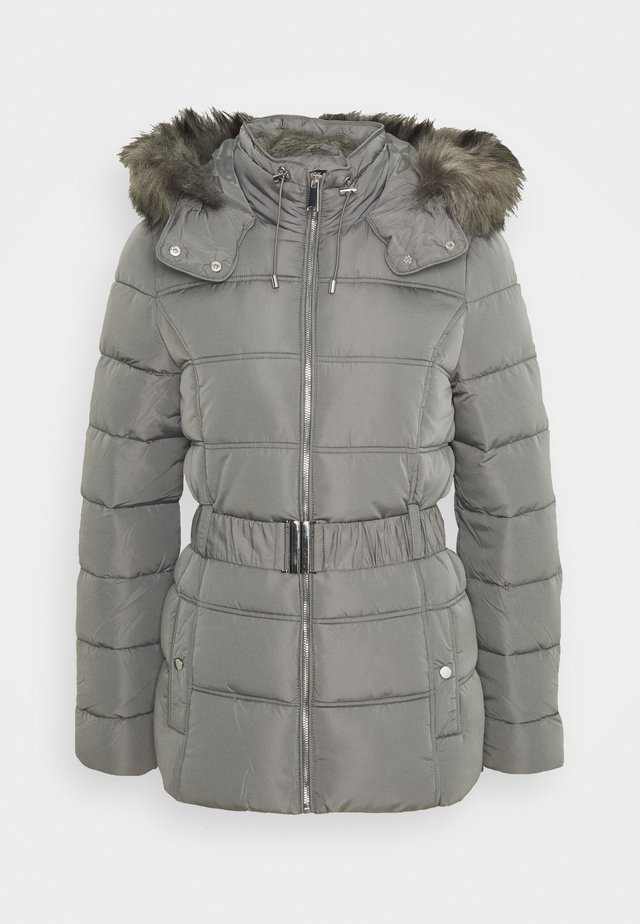 FITTED PADDED PUFFER - Zimní bunda - dark grey
