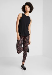 Cotton On Body - ACTIVE CURVE HEM TANK - Top - black - 1
