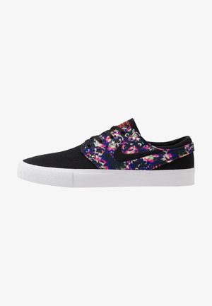 ZOOM JANOSKI UNISEX - Baskets basses - black/laser crimson