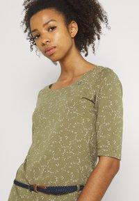 Ragwear - TAMY - Žerzejové šaty - khaki - 3