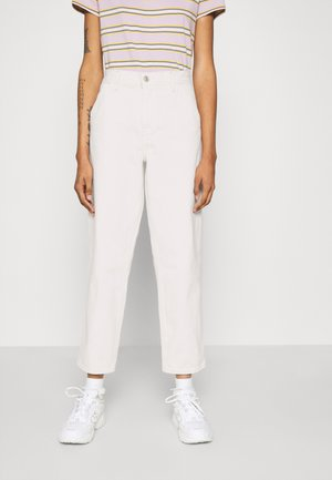 PAINTER BOY  - Jeans baggy - white denim