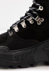 GARMENT PROJECT - Baskets montantes - black - 2