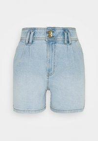 JDY - JDYCARMEN LIFE POCKET - Denim shorts - light blue denim - 5