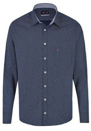 LANGARM MIT MODISCHEM DRUCK - Shirt - dunkelblau