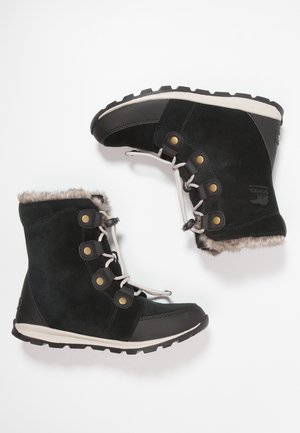 YOUTH WHITNEY - Lace-up ankle boots - black/dark stone