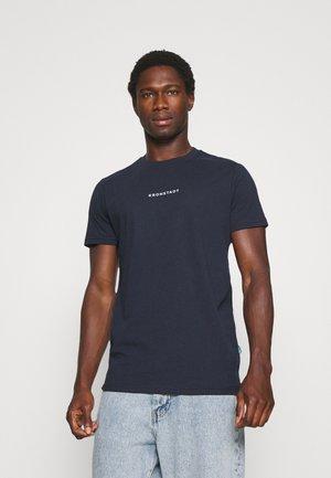 TIMMI LOGO TEE - T-shirt print - navy