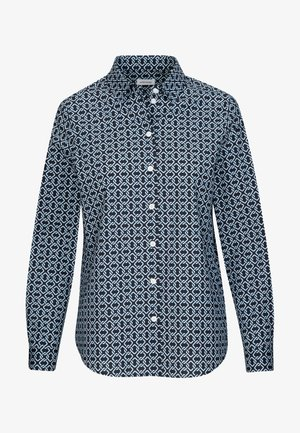 REGULAR FIT - Button-down blouse - blau