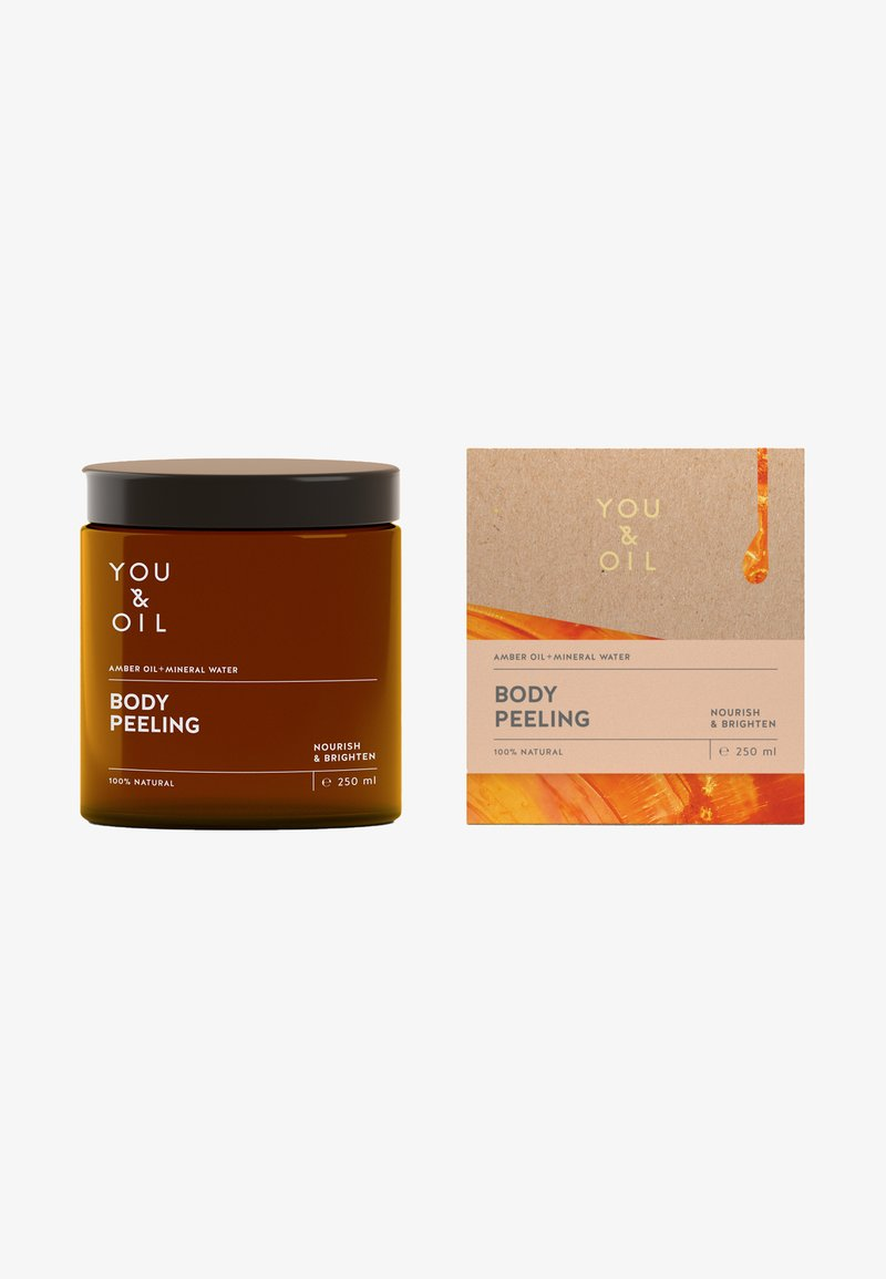 YOU & OIL - BODY PEELING - Lichaamsscrub - -