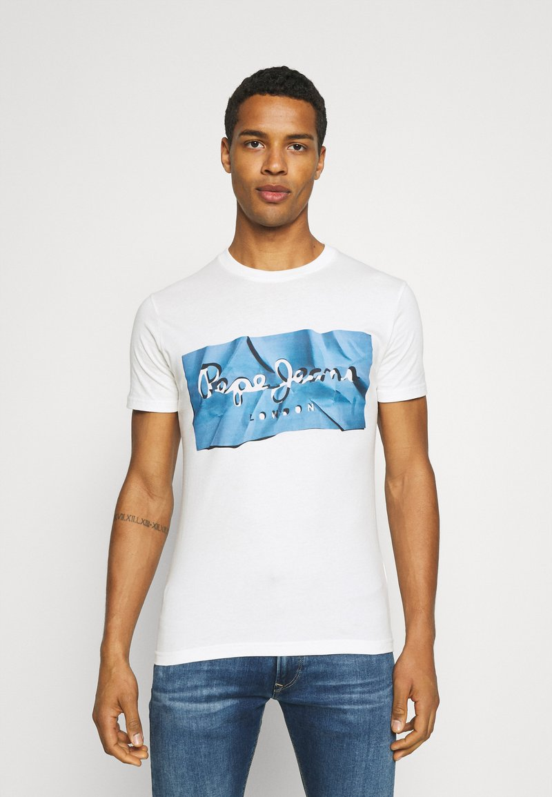 Pepe Jeans - RAURY - T-shirt con stampa - bright blue