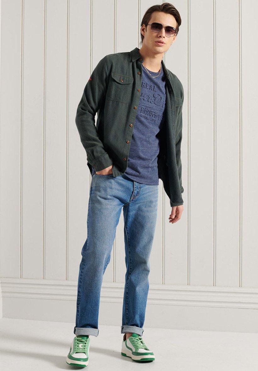 Men VINTAGE  - Long sleeved top
