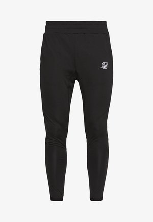 CREASED PANTS - Tracksuit bottoms - black