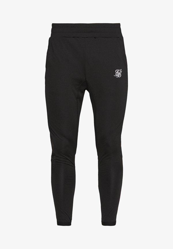 SIKSILK CREASED PANTS - Spodnie treningowe - black/czarny Odzież Męska MRPH