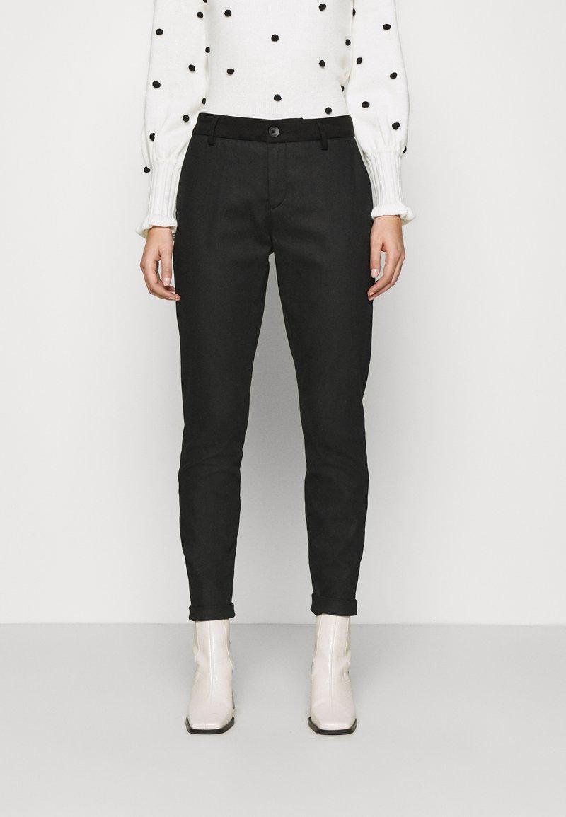 Mos Mosh - BLAKE GALLERY PANT - Kalhoty - black
