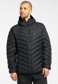 Haglöfs - SÄRNA MIMIC HOOD - Winter jacket - true black - 0