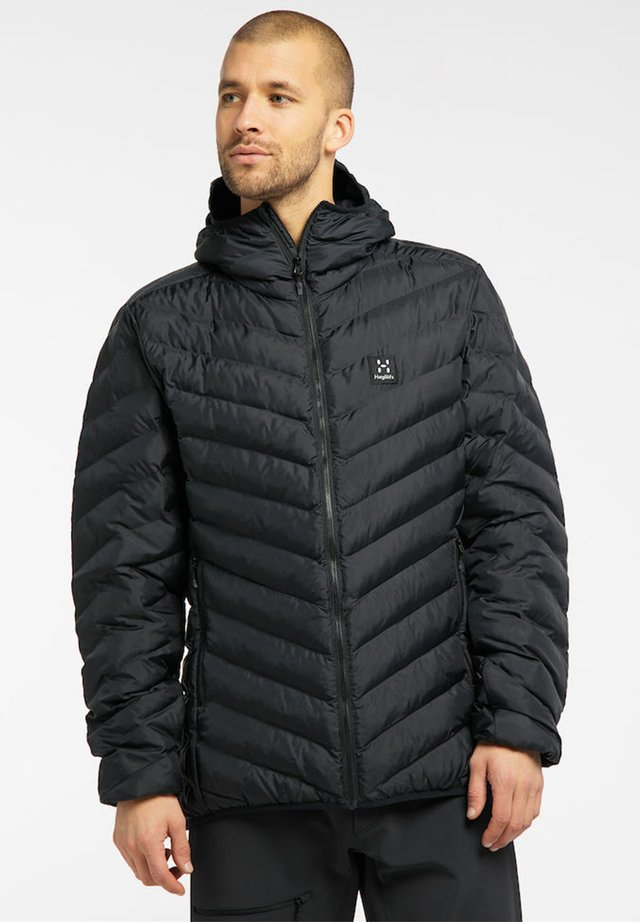 SÄRNA MIMIC HOOD - Winter jacket - true black