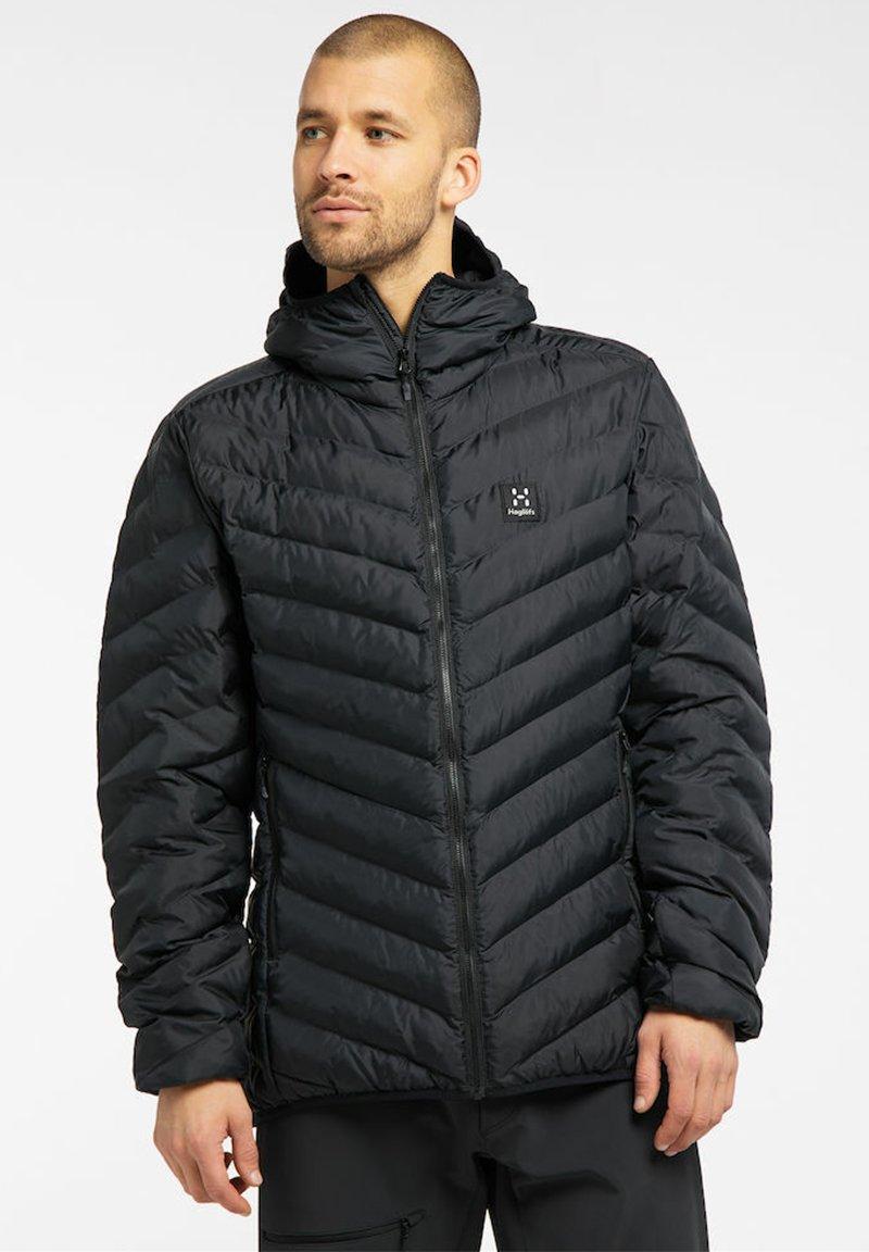Haglöfs - SÄRNA MIMIC HOOD - Winter jacket - true black
